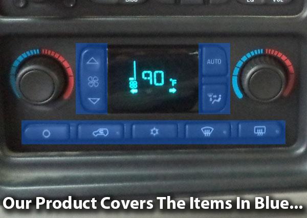 03 - 06 Hummer, Silverado Sierra AC Control