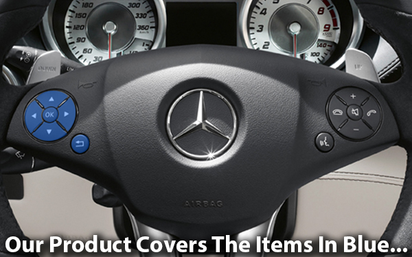 Mercedes-Benz Steering Wheel Arrows