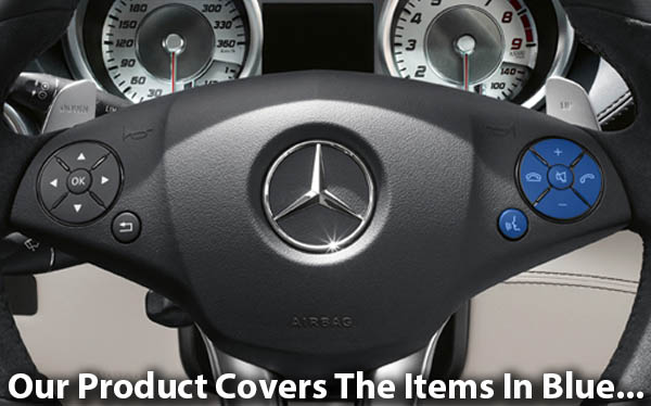 Mercedes-Benz Steering Wheel Right