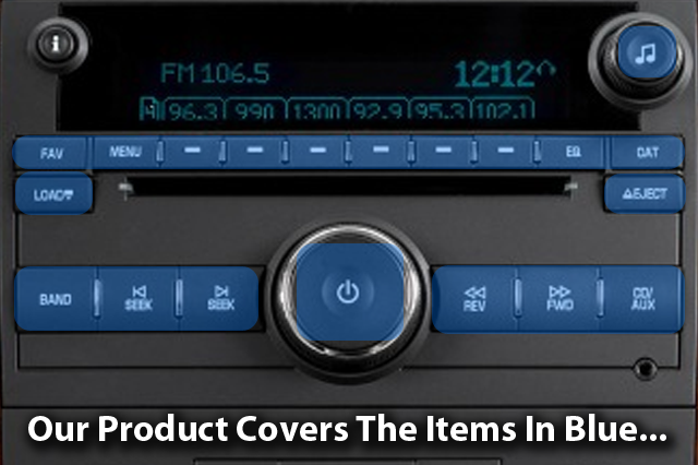 Chevy Tahoe & Chevy Suburban – Control Button Renu